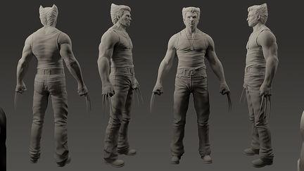 Wolverine : Hugh Jackman W.I.P