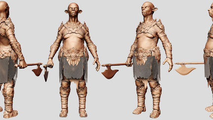 Zbrush Character Design