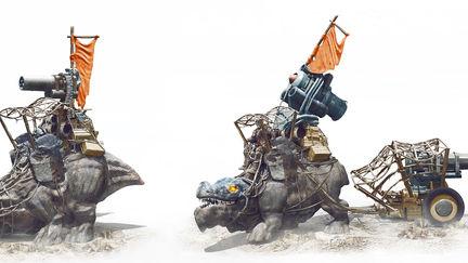 Desert Riders Mounts