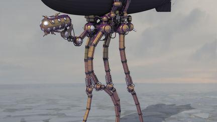 Steampunk Walker