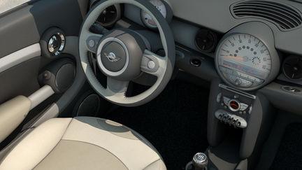 Mini Cooper S cabrio interior