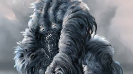 Furry creature concept