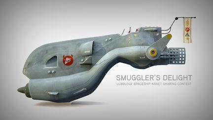 Smuggler's Delight - Spaceship