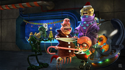 Traditional Holiday Sing-Along at Space Station 42