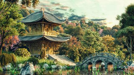 The last Pagoda