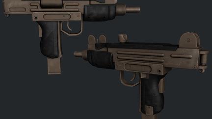 IMI Uzi Mini Uzon machine gun