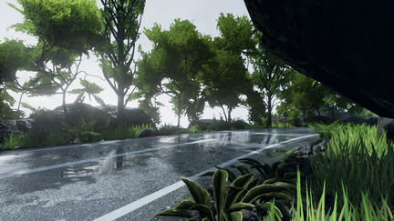 Unreal engine 4 - environment