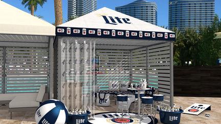 MillerCoors Vegas Cabana Dress-Up!
