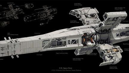 U.N. Planetary Assault Platform