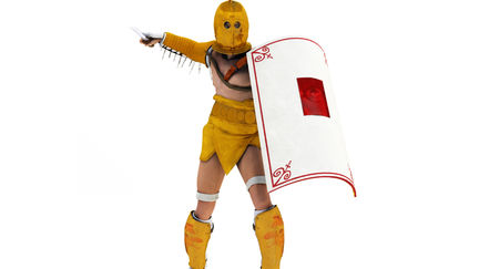 Ancient Rome Gladiator Secutor