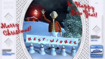Porticodoro/SmartCgArt 2014-2015 Christmas Greeting Card