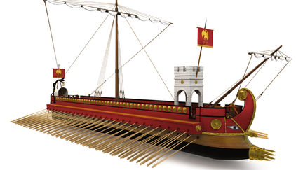 Roman Quinquereme 1st Century AD
