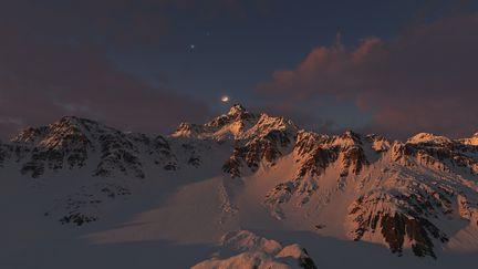 Montaña Sunrise