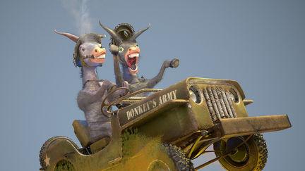 Donkey's army
