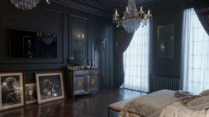 Dark Master Bedroom_2
