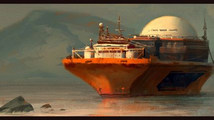 ship sletch