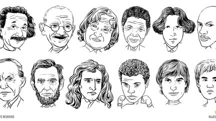 Well known personalities sketches 01