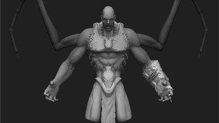 - Dominance War V - 3D - Jorge Lescale - God of  Darkness -HPC