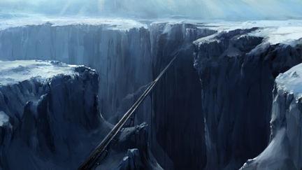 """Film """"Snowpiercer"""" Concept design"""