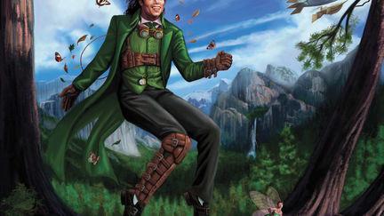 Steam Punk Michael Jackson as Peter Pan
