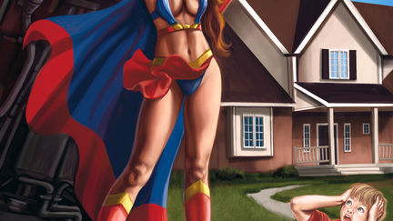 Super Heroine Saves the Day!