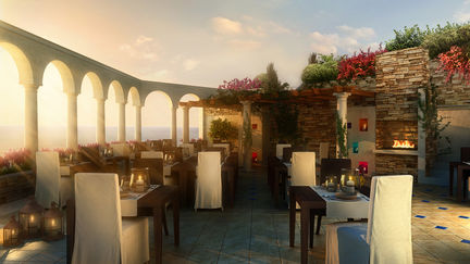 Open Air Resturant