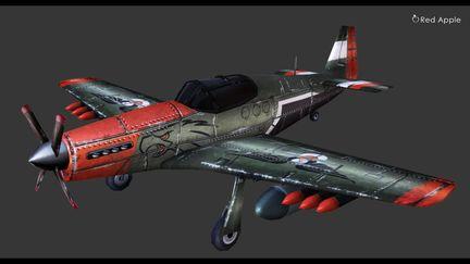 Fight Plane in 3D