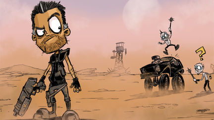 Daily Sketch - Mad Max