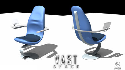 Vast Space Command Chair
