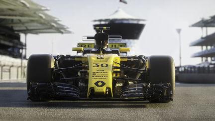 Renault Sport F1 CG Illustration