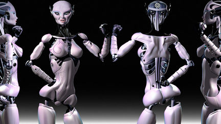 Fembot V4 Posed