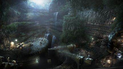 Pakal Sinkhole: Palenque Excavation