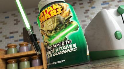 "Disney ""Star Wars Gummies"""