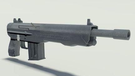 Gun after Textures 2