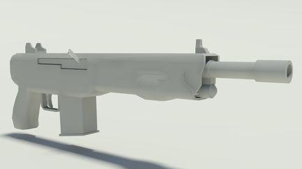 Gun before Textures 2