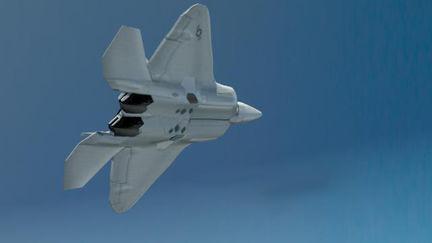 Raptor-F22 Bottom flight