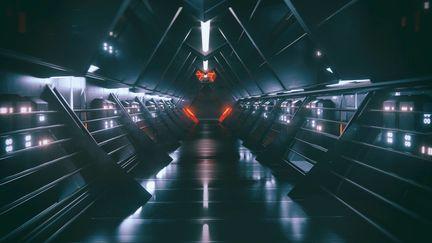 scifi tunnel