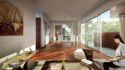 """Interior view1 of the project """"Bosques"""""""