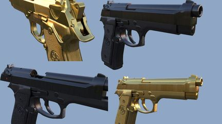 Beretta M9 3d