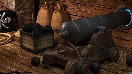 Pirates's cannon