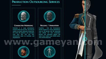 Production Outsourcing Services By GameYan 3D Animation Studio
