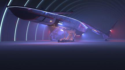 Sci-Fi lighting study