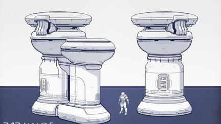 Halo 5 Guardians Props