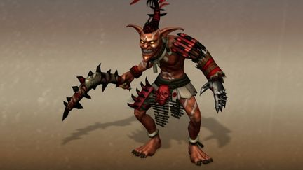 Goblin Hunter,a computer game character