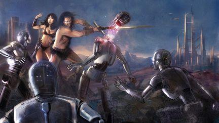 the final battle of Sci-Fi