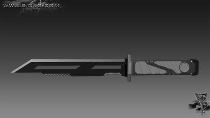 Hunter Knife 02