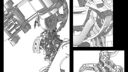 transformers concept - wheeljack detail