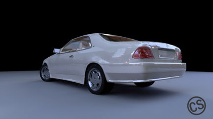 Mercedes Light test