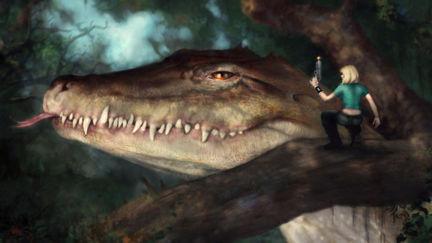 Big Lizard, Small Gun