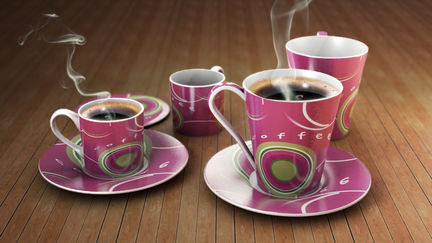 Photoreal Coffee Cup